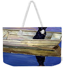 Slow Boat Weekender Tote Bag by Molly Poole