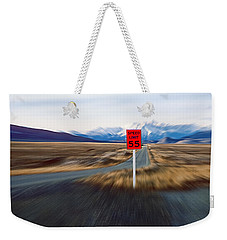 Slow Down Weekender Tote Bag