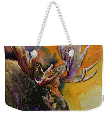 Sly Moose Weekender Tote Bag by Beverley Harper Tinsley