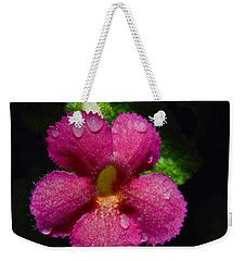 Small Beauty Weekender Tote Bag by Jocelyn Kahawai