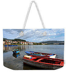 Small Boats In Galicia Weekender Tote Bag