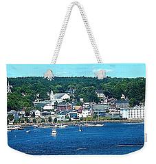 Small Coastal Town America Weekender Tote Bag