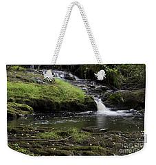 Small Falls On West Beaver Creek Weekender Tote Bag by Kathy McClure