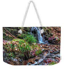 Small Fog Waterfall Weekender Tote Bag