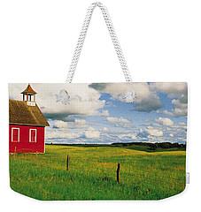 Small Red Schoolhouse, Battle Lake Weekender Tote Bag