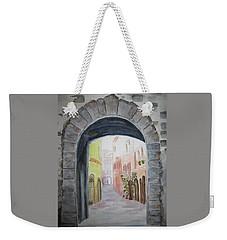 Small Village In Italy Weekender Tote Bag