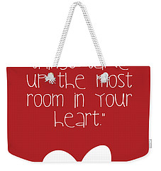 Smallest Things Weekender Tote Bag