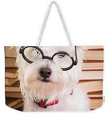 Smart Doggie Weekender Tote Bag by Edward Fielding