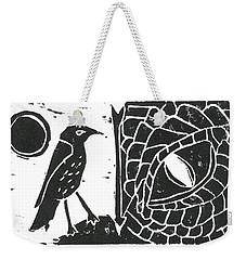 Smaug And The Thrush Weekender Tote Bag