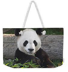 Smiling Giant Panda Weekender Tote Bag