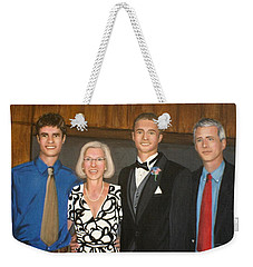 Smith Family Portrait Weekender Tote Bag