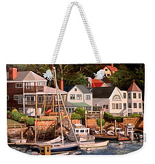 Smiths Cove Gloucester Weekender Tote Bag by Eileen Patten Oliver