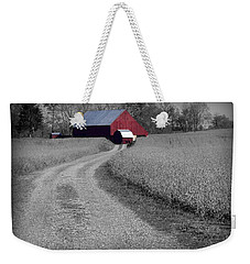 Smithsburg Barn Weekender Tote Bag by Robert Geary