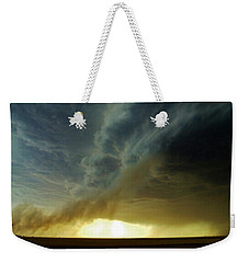 Smoke And The Supercell Weekender Tote Bag by Ed Sweeney