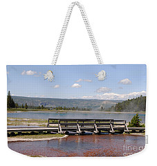 Smoke On The Water Weekender Tote Bag