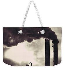Smoke Stack Weekender Tote Bag