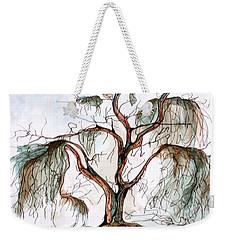 Smoke Tree Weekender Tote Bag by Pat Purdy