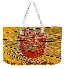 Smokey Weekender Tote Bag by David Lawson