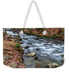 Smokey Mountain Stream Weekender Tote Bag