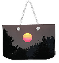 Smokey Sunrise Weekender Tote Bag