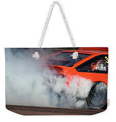 Smoking Ae86 Weekender Tote Bag