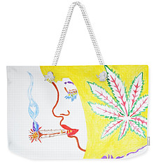 Smoking Blonde Weekender Tote Bag