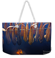 Smoking Fish Weekender Tote Bag