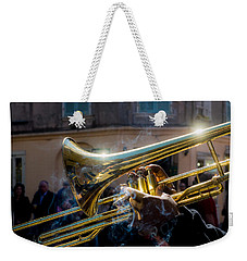 Smoking Hot Trombone Weekender Tote Bag