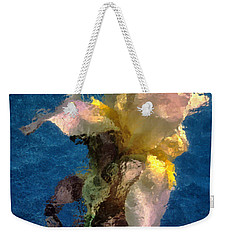 Smoking Iris Weekender Tote Bag