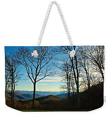 Weekender Tote Bag featuring the photograph Smoky Mountain Splendor by Dee Dee  Whittle