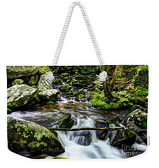 Smoky Mountain Stream 4 Weekender Tote Bag