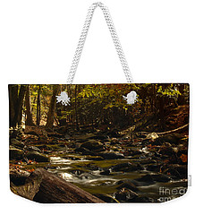 Smoky Mountain Stream Weekender Tote Bag