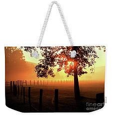 Smoky Mountain Sunrise Weekender Tote Bag
