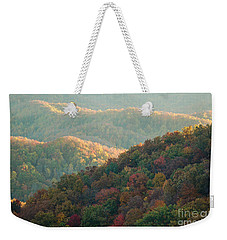 Smoky Mountain View Weekender Tote Bag