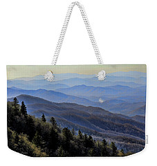 Smoky Vista Weekender Tote Bag by Kenny Francis