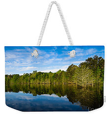 Smooth Reflection Weekender Tote Bag