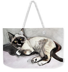Smudge At 8 Weeks  Weekender Tote Bag