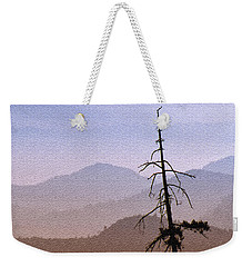 Snag On The Hill Weekender Tote Bag by Richard Farrington