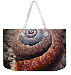 Snail Beauty Weekender Tote Bag by Clare Bevan