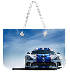 Snake Eyes Weekender Tote Bag by Douglas Pittman