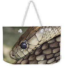 Snake Weekender Tote Bag by Lucid Mood