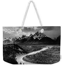 Snake River In The Tetons - 1930s Weekender Tote Bag