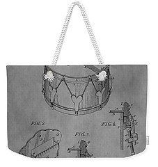 Snare Drum Weekender Tote Bag by Dan Sproul