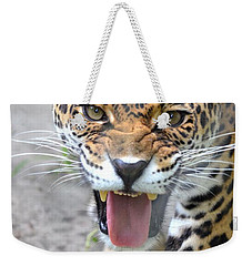 Snarling Jaguar  Weekender Tote Bag