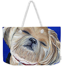 Snickers Weekender Tote Bag by Michelle Joseph-Long