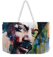 Snoop Dogg Weekender Tote Bag by Laur Iduc