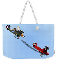 Snoopy And The Red Baron Weekender Tote Bag