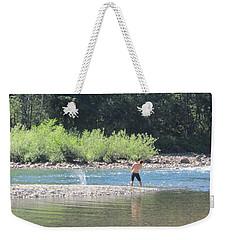 Snoqualmie River 5 Weekender Tote Bag