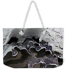 Snow And Ice Square Weekender Tote Bag
