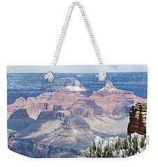 Snow At The Grand Canyon Weekender Tote Bag